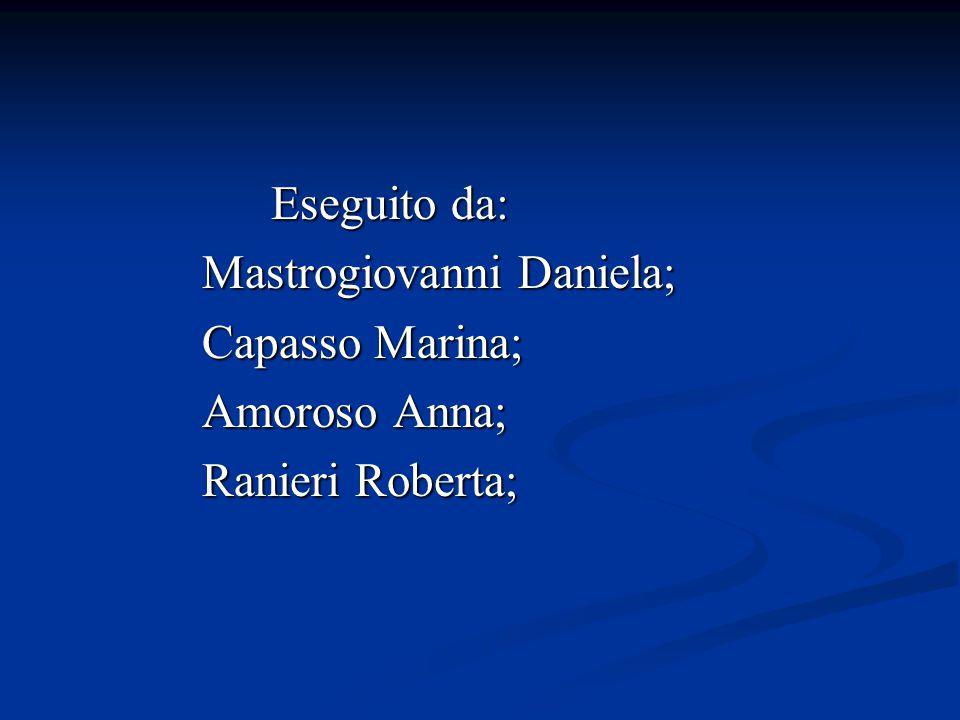 Mastrogiovanni Daniela; Capasso Marina; Amoroso Anna; Ranieri Roberta;