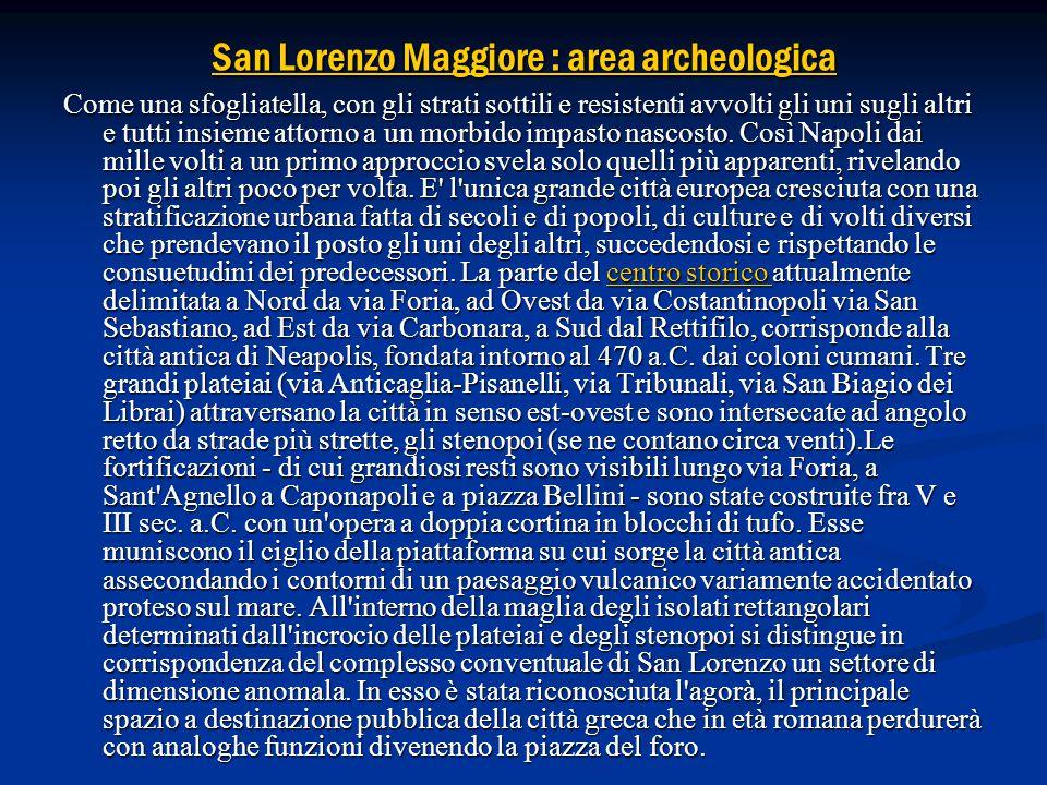 San Lorenzo Maggiore : area archeologica