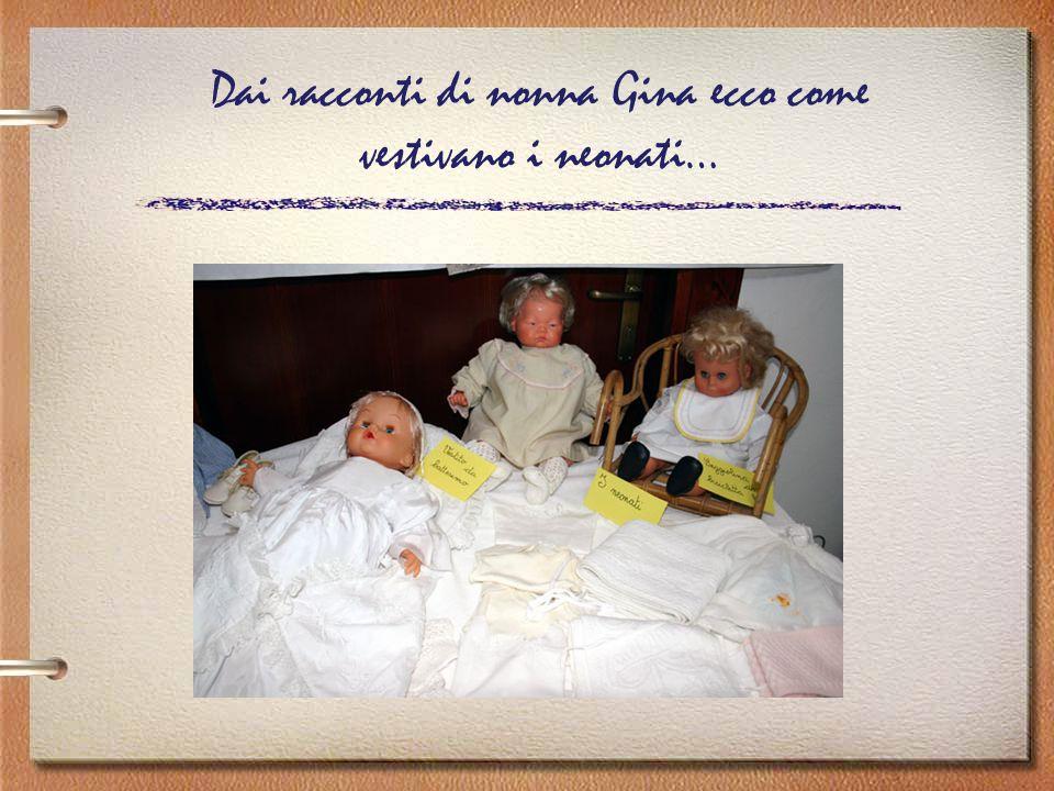 Dai racconti di nonna Gina ecco come vestivano i neonati…