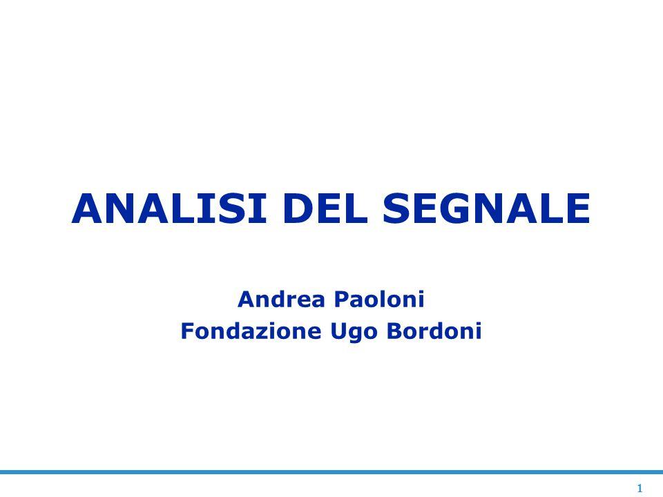 Andrea Paoloni Fondazione Ugo Bordoni