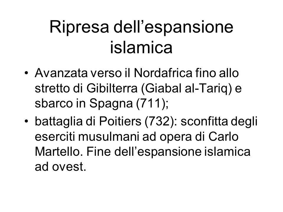Ripresa dell'espansione islamica