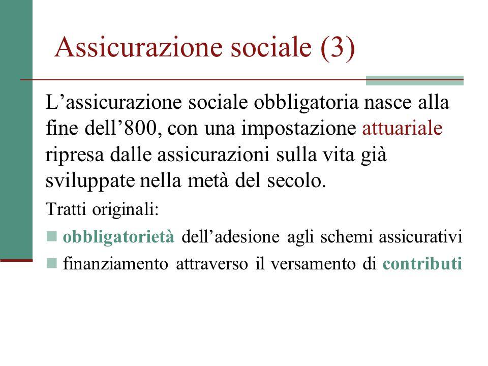 Assicurazione sociale (3)