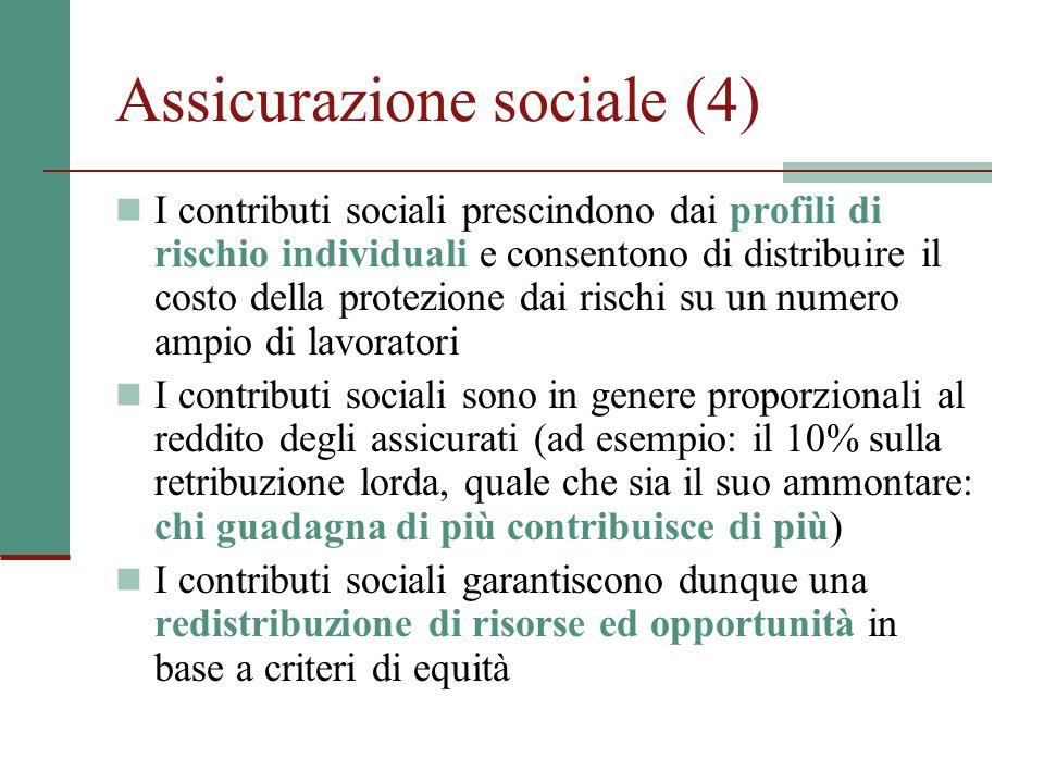 Assicurazione sociale (4)