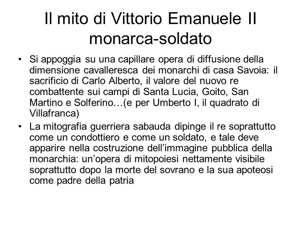 Il mito di Vittorio Emanuele II monarca-soldato