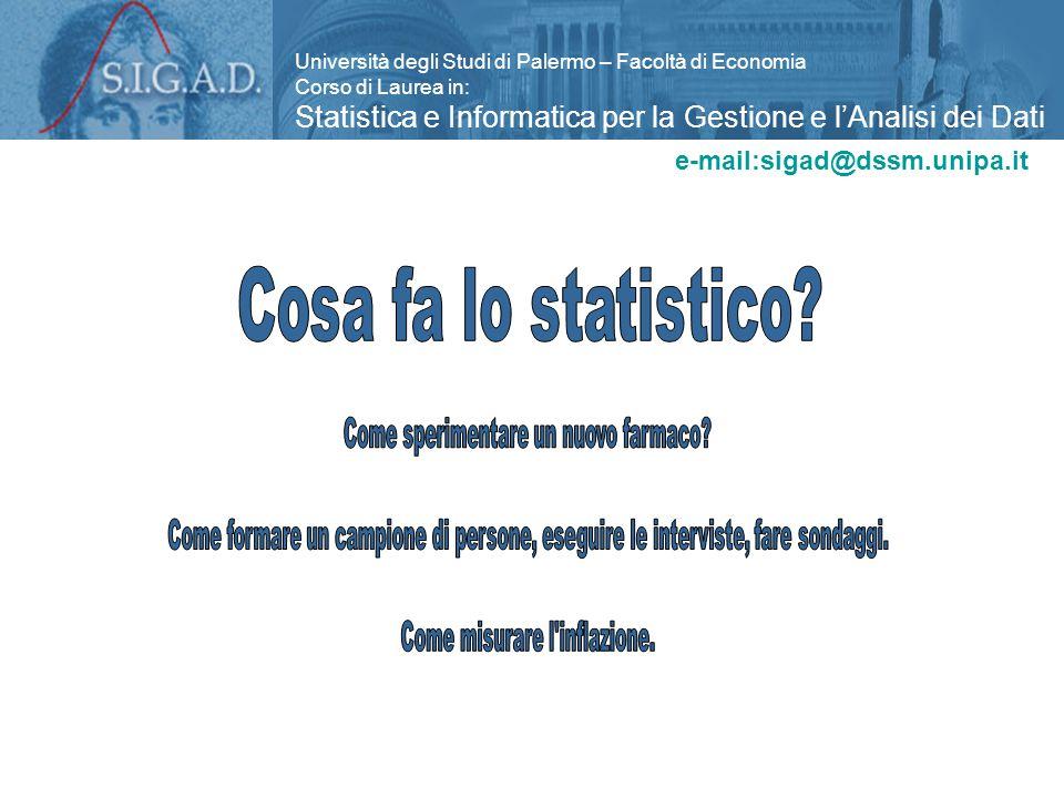 Università degli Studi di Palermo – Facoltà di Economia