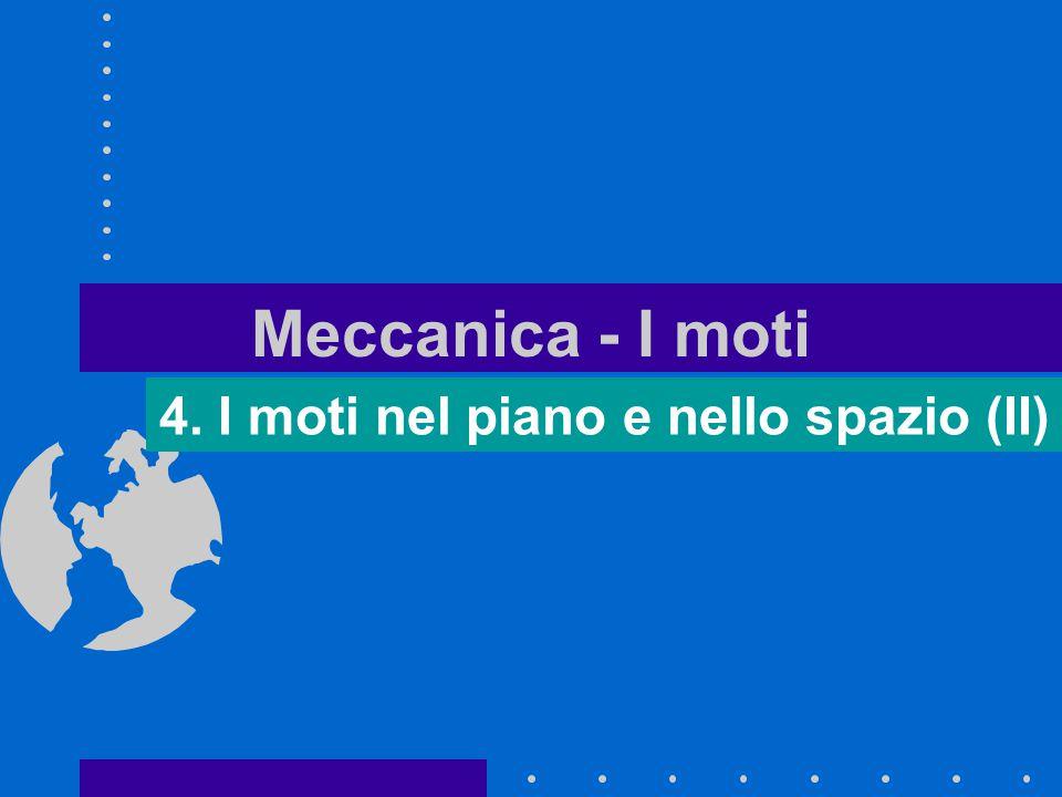 4. I moti nel piano e nello spazio (II)