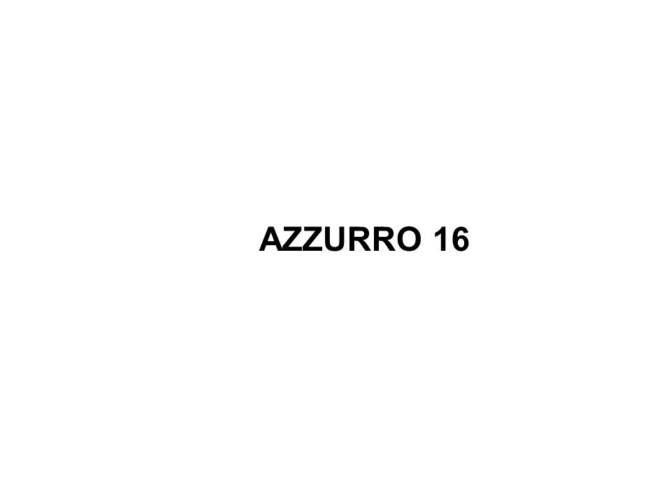AZZURRO 16