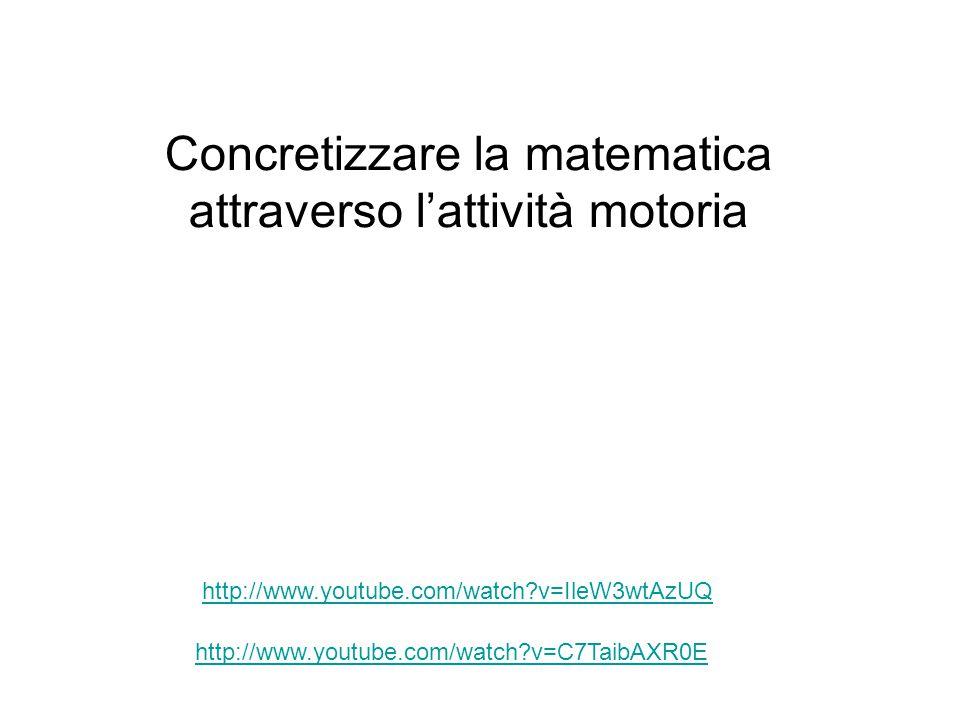 Concretizzare la matematica attraverso l'attività motoria