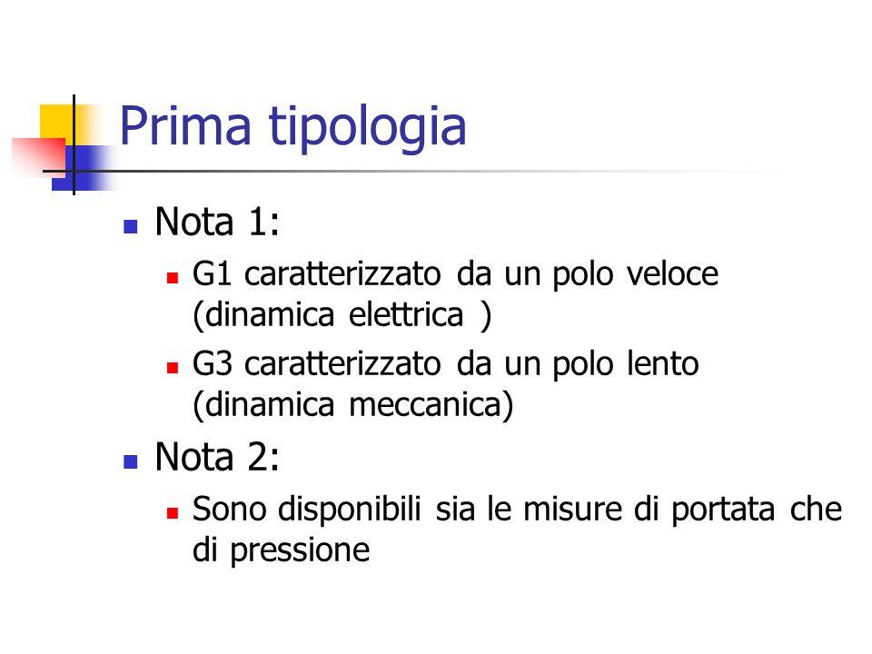 Prima tipologia Nota 1: Nota 2: