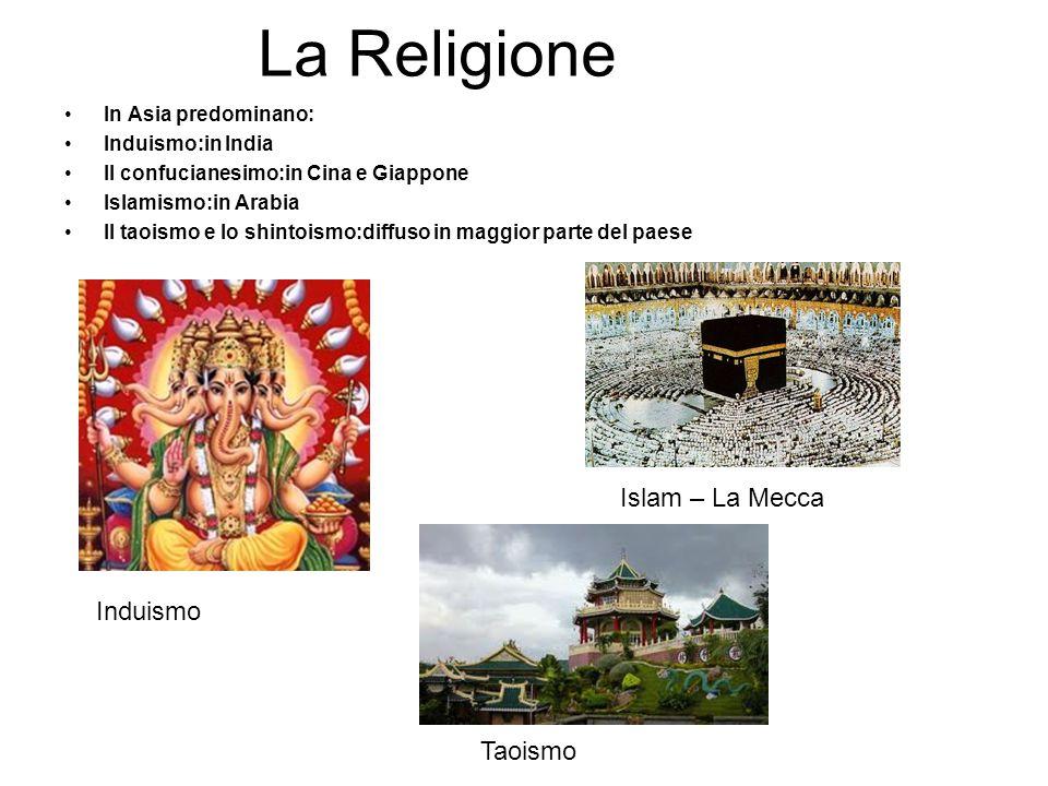 La Religione Islam – La Mecca Induismo Taoismo In Asia predominano:
