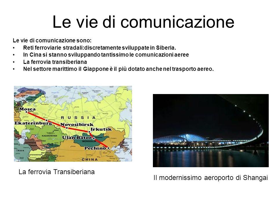 Le vie di comunicazione