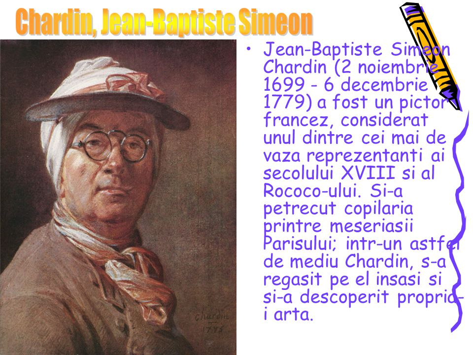 Chardin, Jean-Baptiste Simeon