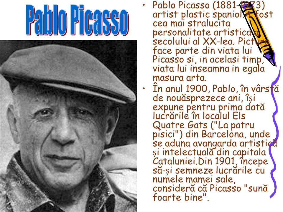Pablo Picasso (1881-1973) artist plastic spaniol