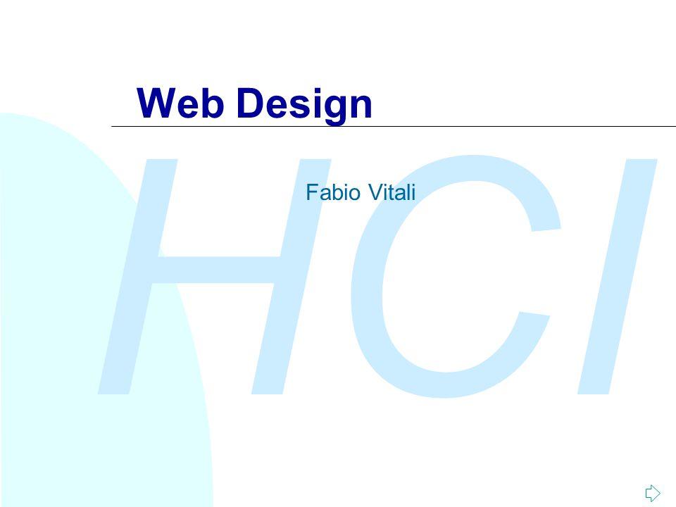 Web Design Fabio Vitali