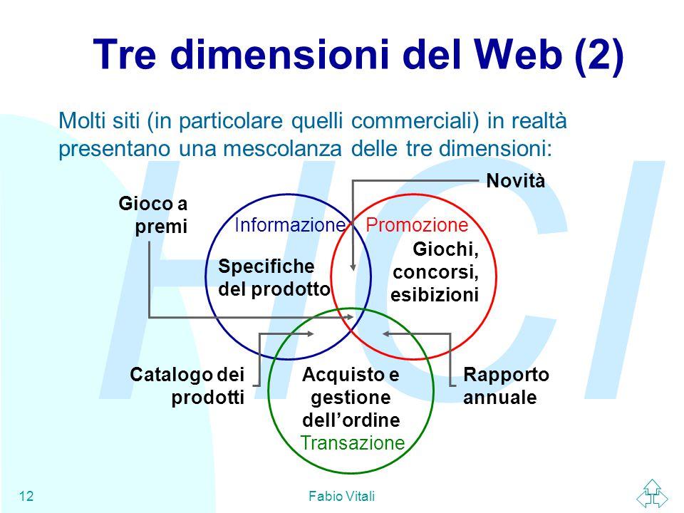 Tre dimensioni del Web (2)