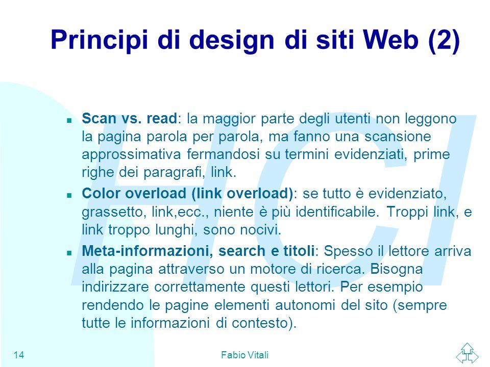 Principi di design di siti Web (2)