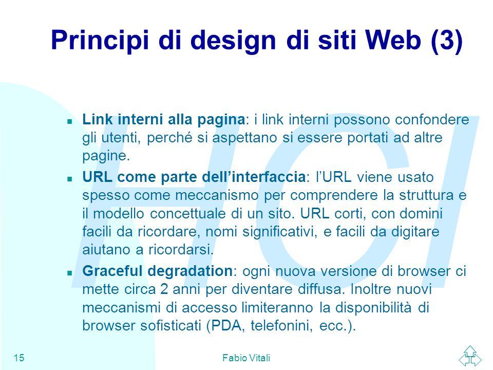 Principi di design di siti Web (3)
