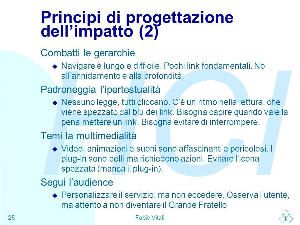 Principi di progettazione dell'impatto (2)