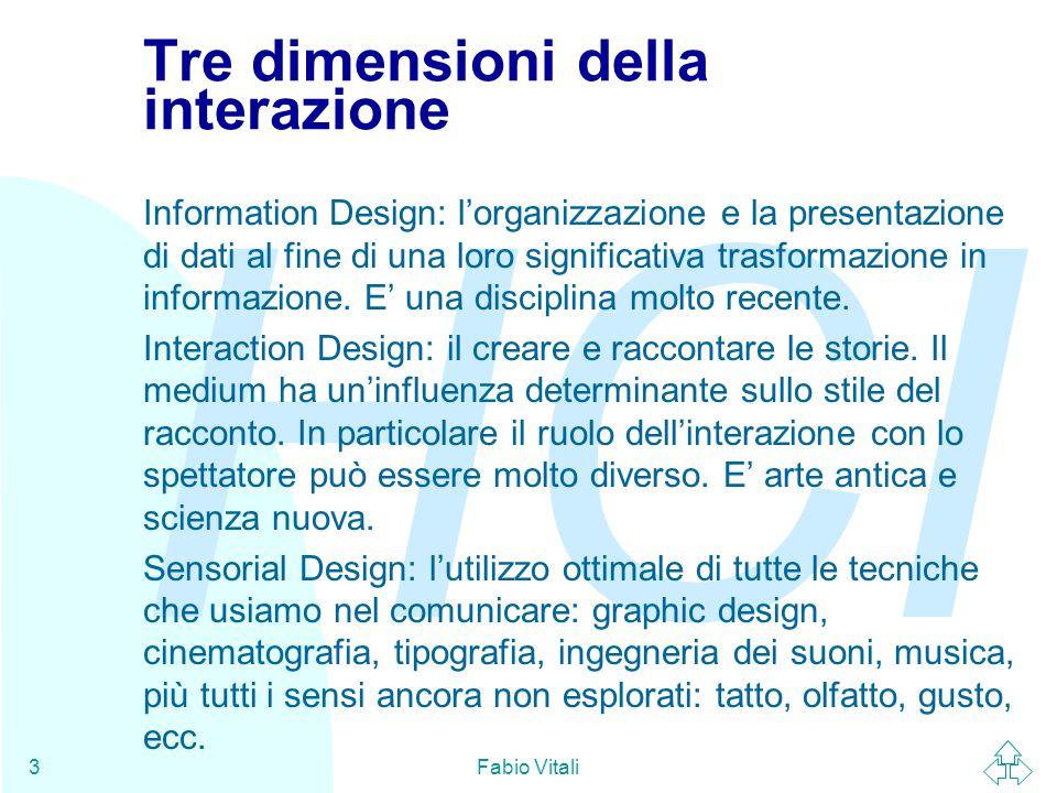 Tre dimensioni della interazione