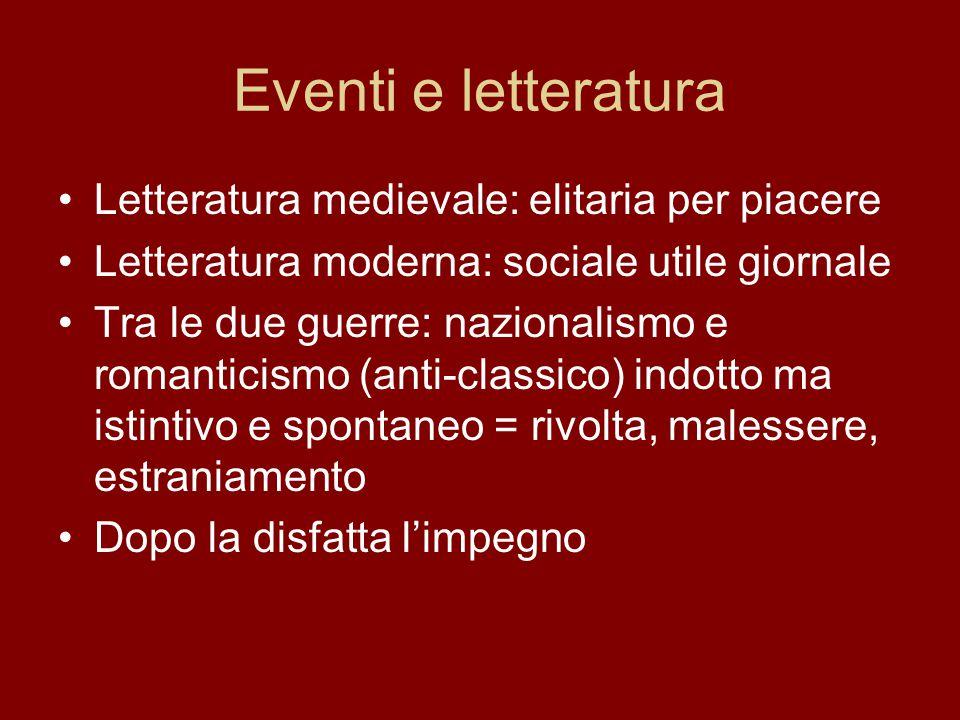 Eventi e letteratura Letteratura medievale: elitaria per piacere