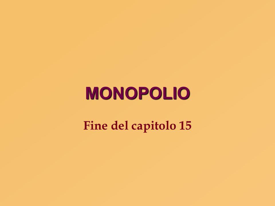 MONOPOLIO Fine del capitolo 15 1 78 83 83