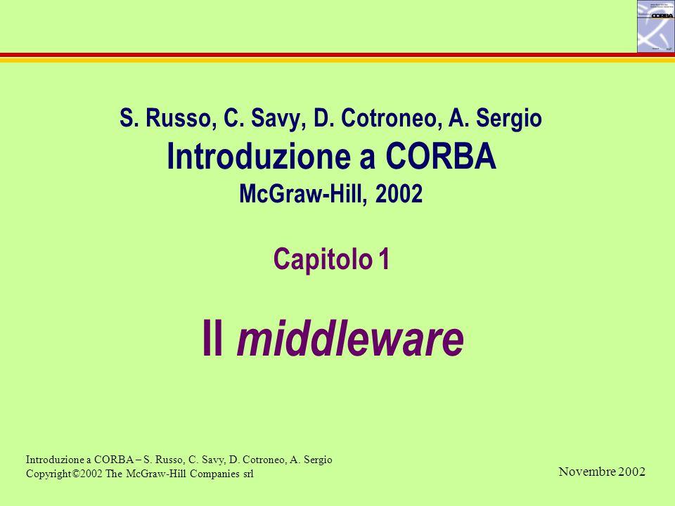 Capitolo 1 Il middleware