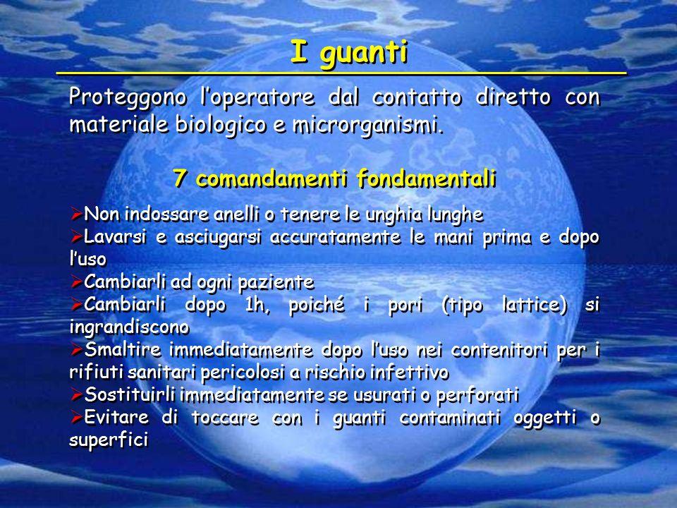 7 comandamenti fondamentali