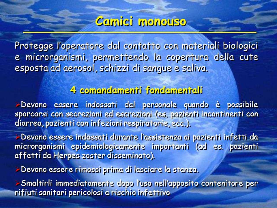 4 comandamenti fondamentali