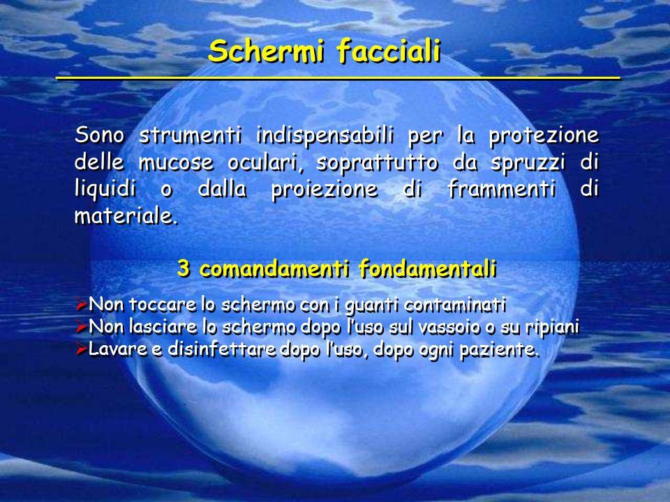 3 comandamenti fondamentali