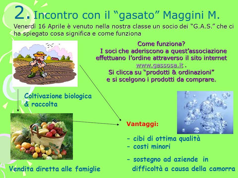 2. Incontro con il gasato Maggini M.