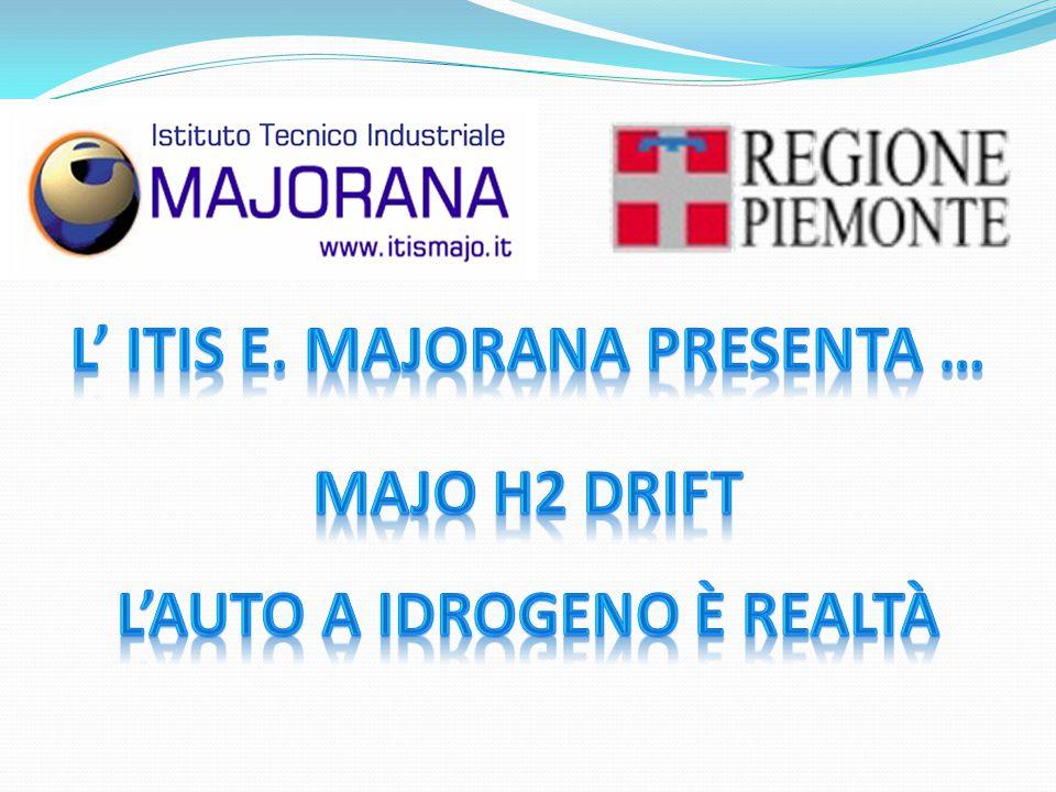 L' Itis E. Majorana presenta … Majo H2 Drift l'auto a idrogeno è realtà