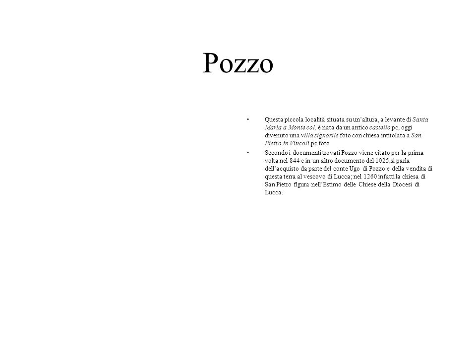 Pozzo