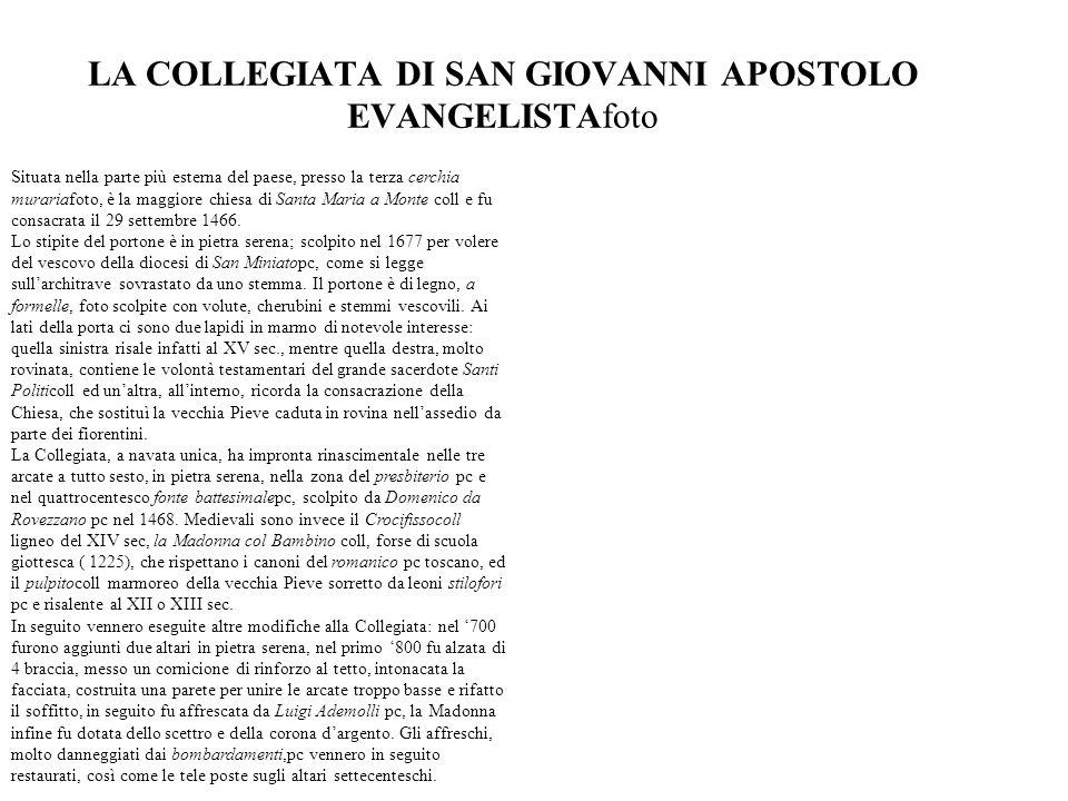 LA COLLEGIATA DI SAN GIOVANNI APOSTOLO EVANGELISTAfoto
