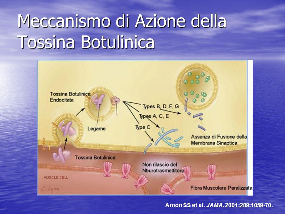Meccanismo di Azione della Tossina Botulinica