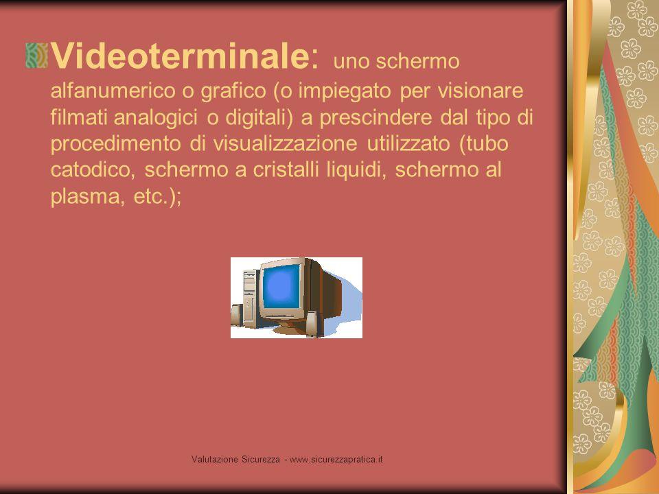 Valutazione Sicurezza - www.sicurezzapratica.it