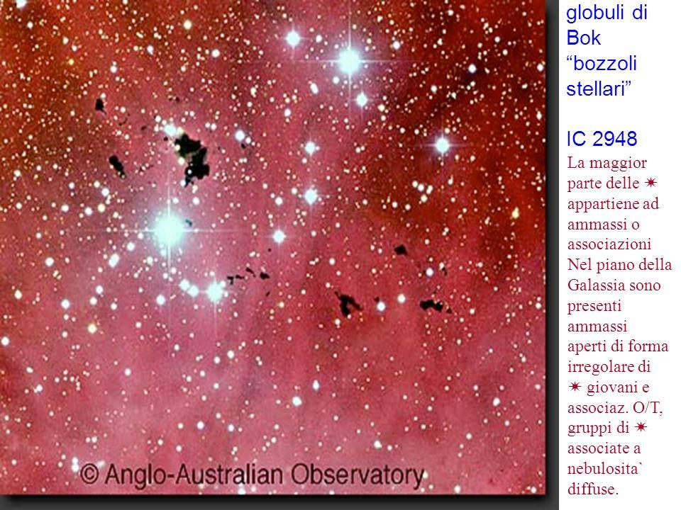 globuli di Bok bozzoli stellari IC 2948 La maggior parte delle 