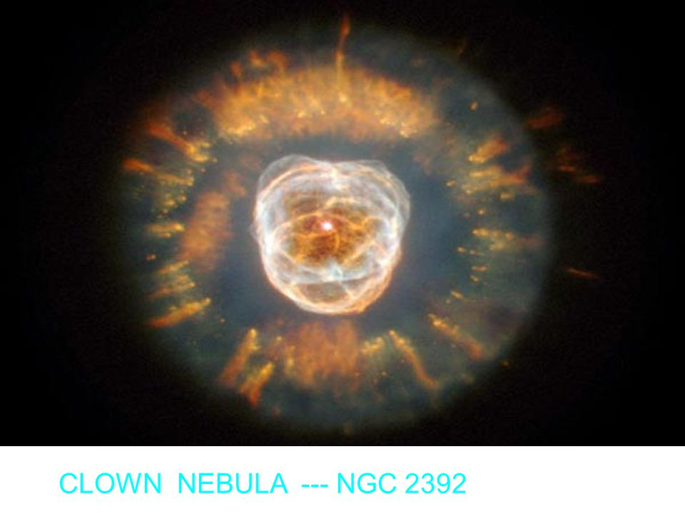 CLOWN NEBULA --- NGC 2392