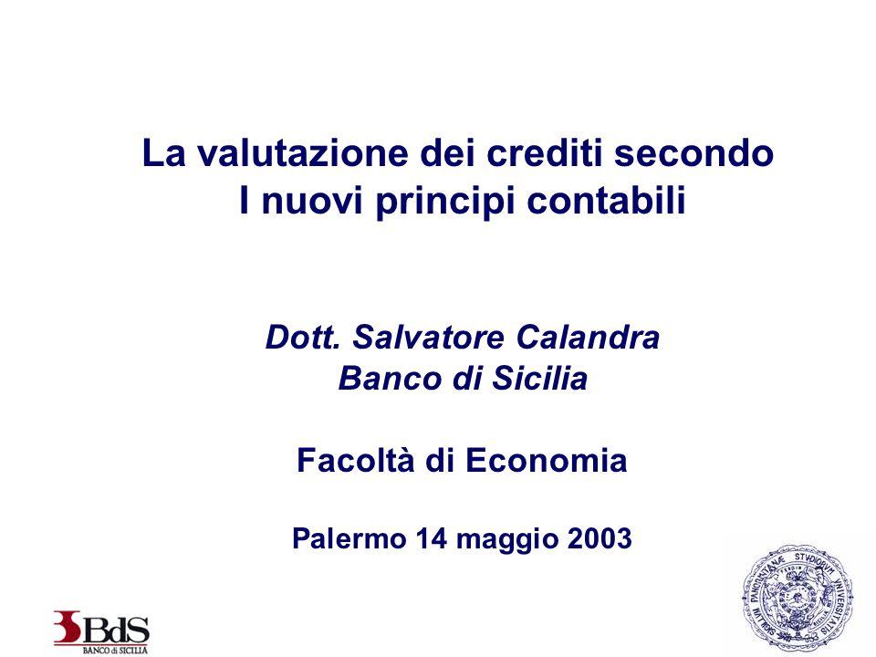 La valutazione dei crediti secondo I nuovi principi contabili