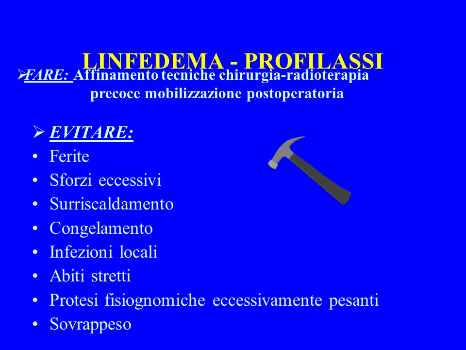 LINFEDEMA - PROFILASSI