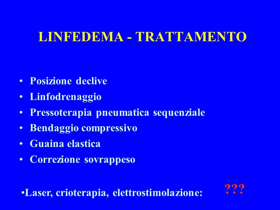 LINFEDEMA - TRATTAMENTO