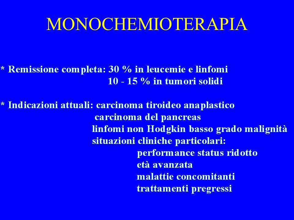 MONOCHEMIOTERAPIA