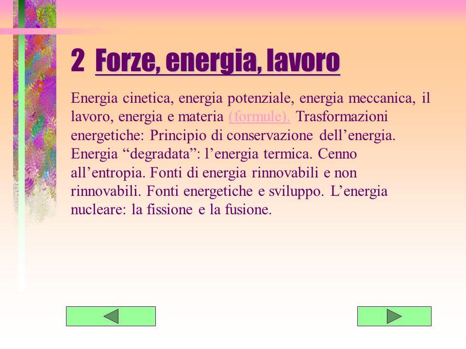 2 Forze, energia, lavoro