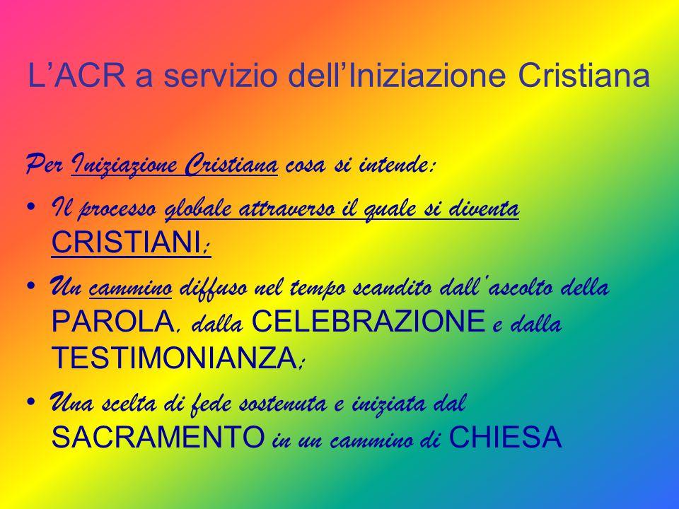 L'ACR a servizio dell'Iniziazione Cristiana