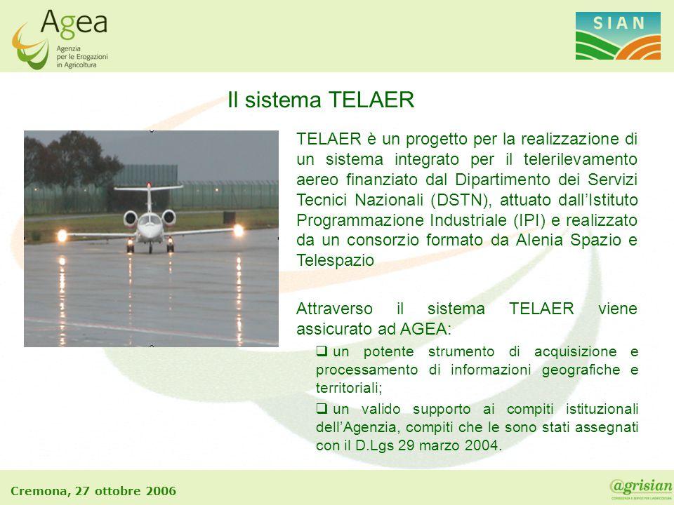 Il sistema TELAER