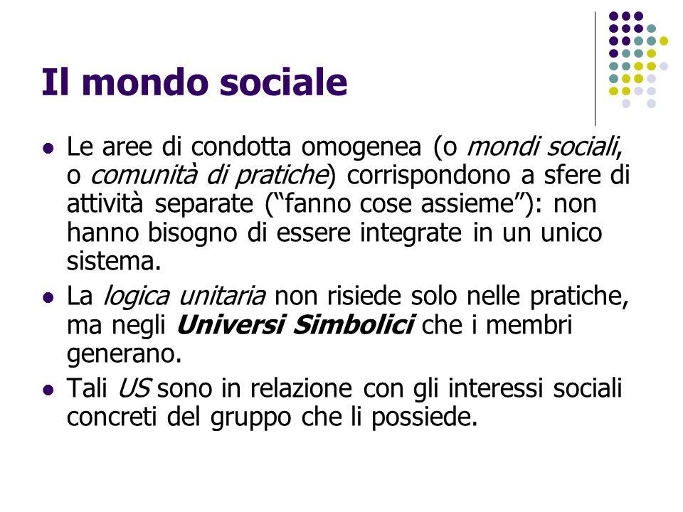 Il mondo sociale