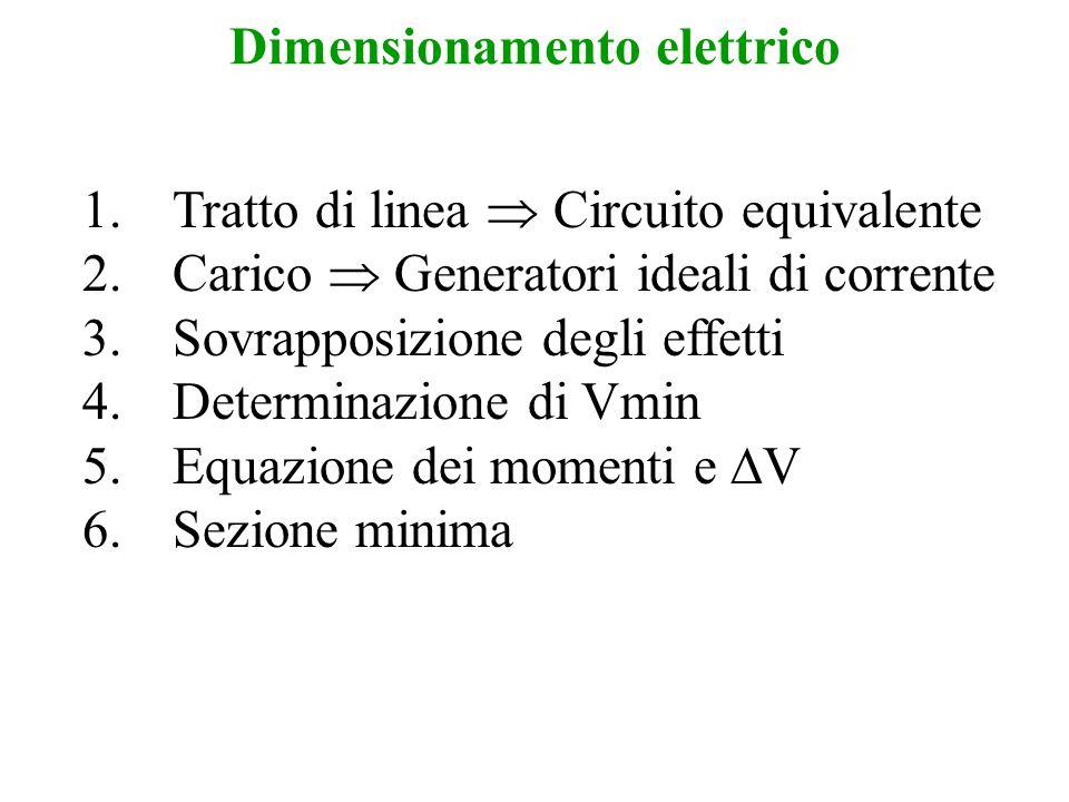 Dimensionamento elettrico