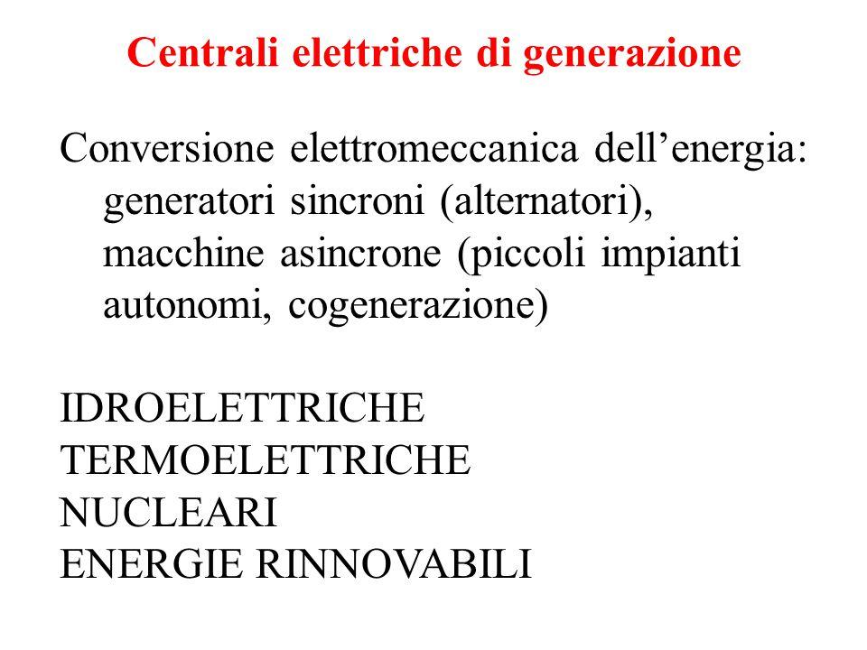 Centrali elettriche di generazione