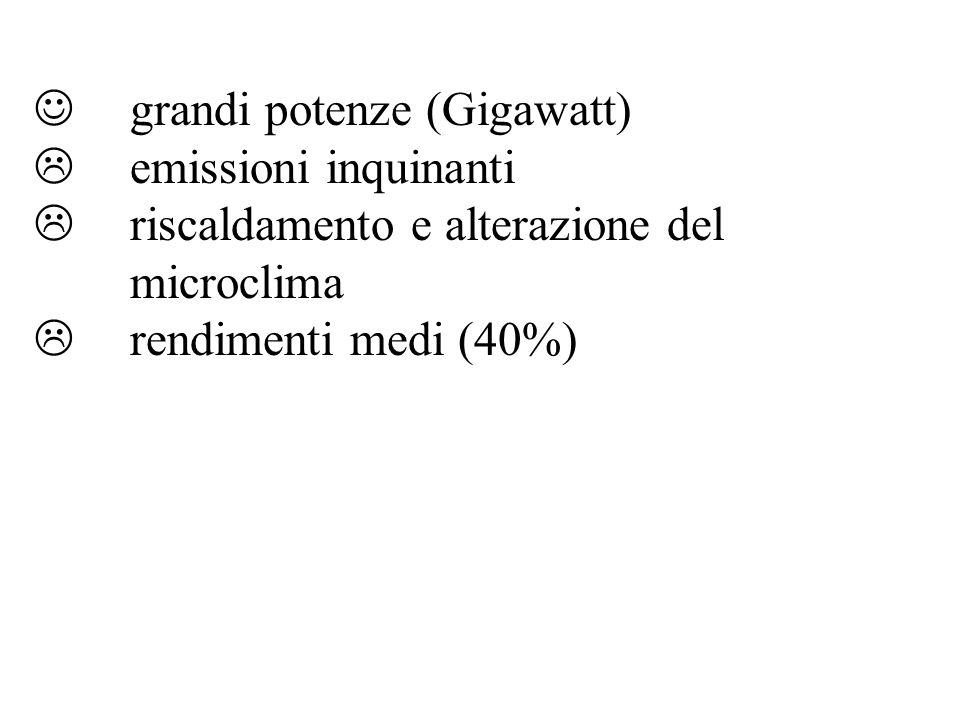 grandi potenze (Gigawatt)