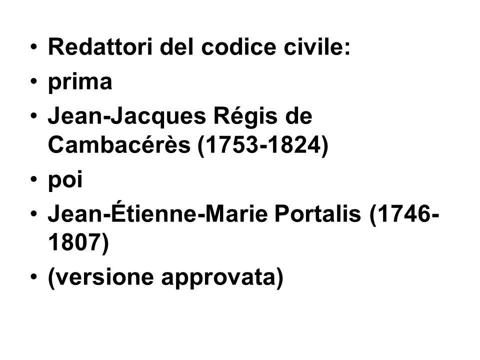 Redattori del codice civile: