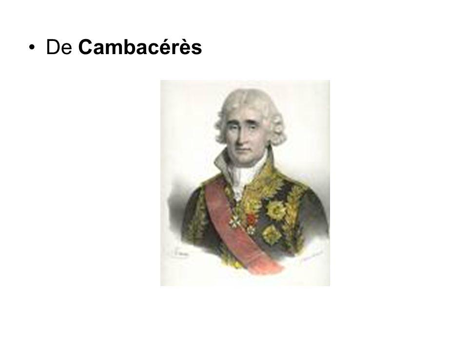 De Cambacérès
